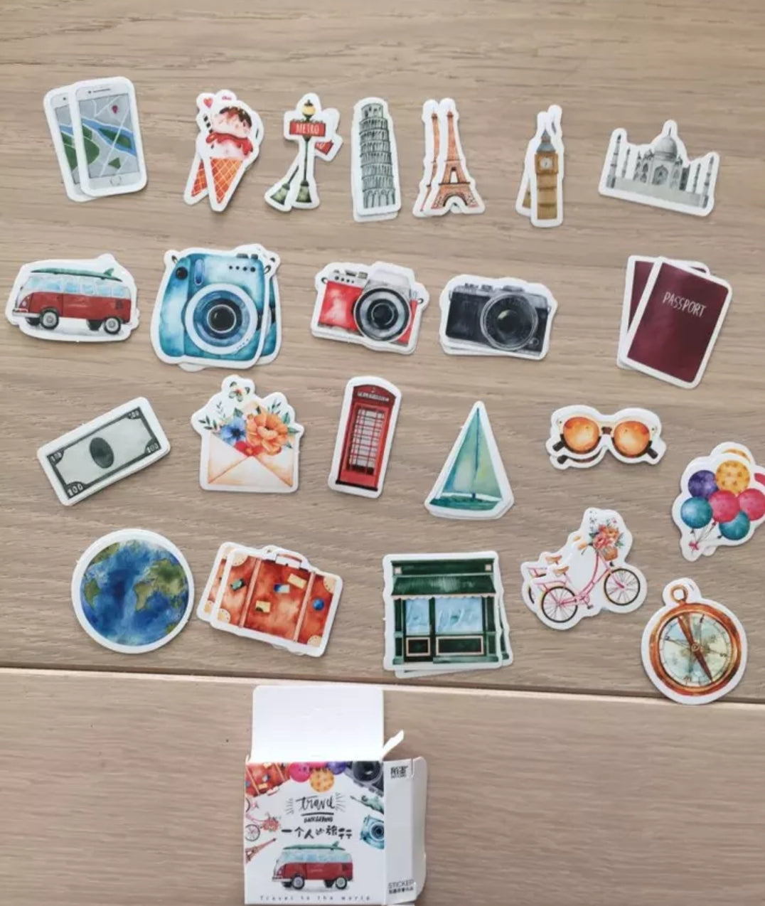 Travel Sticker Set - Otrio Stationery