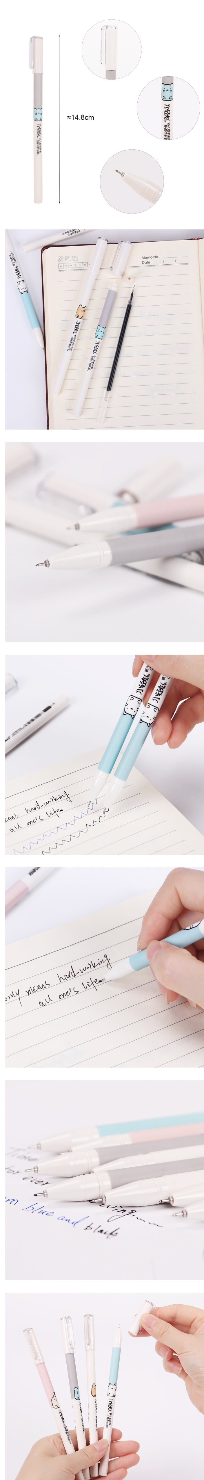 Cute Animal Pens: Set of 4 – Otrio Stationery & Gifts