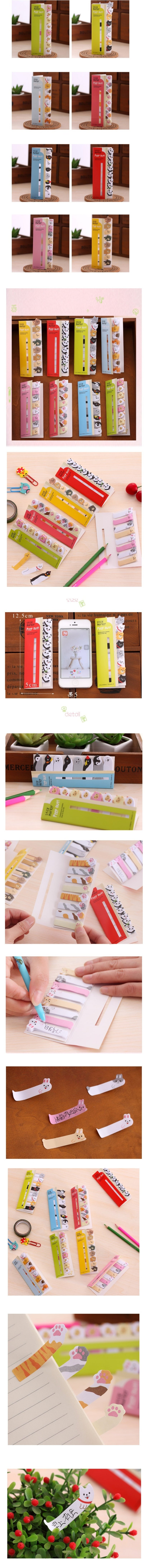 Kawaii Animal Sticky Note - Otrio Stationery