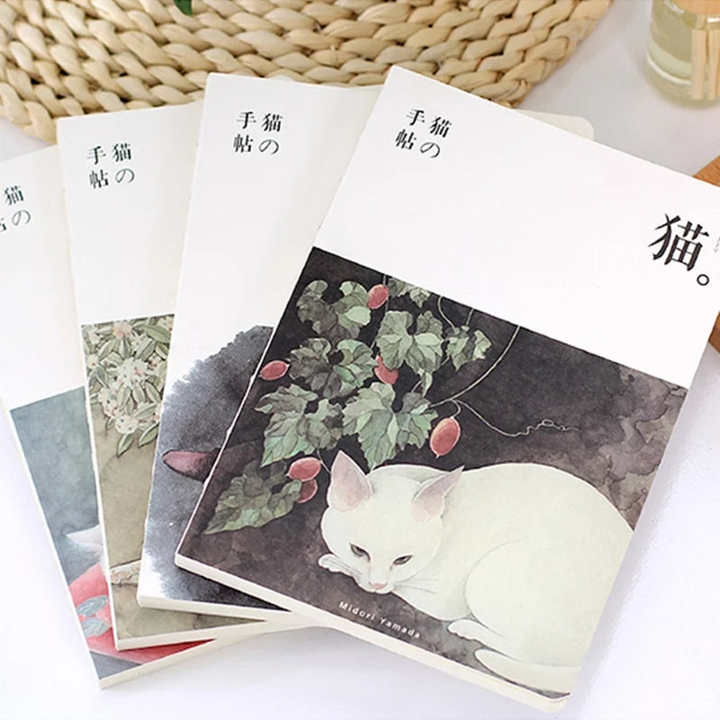 Vintage Cat Sketchbooks: Available in 8 designs!