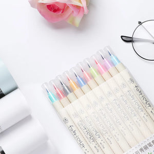 Fabricolor Calligraphy Brush Pens: Set of 10