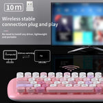 Wireless Keyboard and Mouse: 5 colors