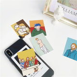 Aesthetic Art iPhone Case: 7 portraits included!