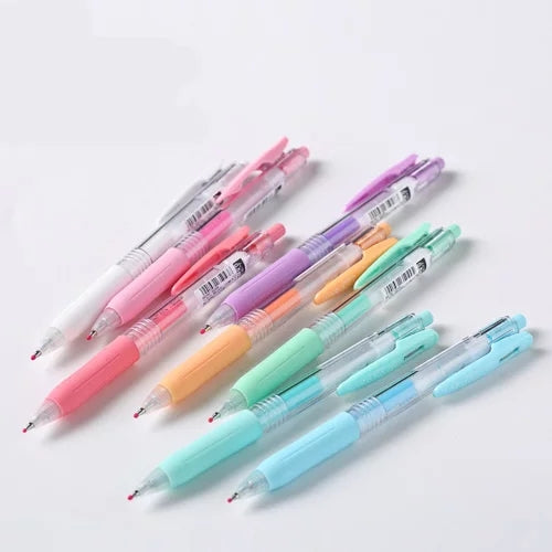 Set of 3, 5, 8 Milk Color Zebra Sarasa Gel Pen Series