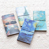 Van Gogh Leather Travel Planners