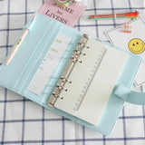 Lovely Macaron Leather Planner
