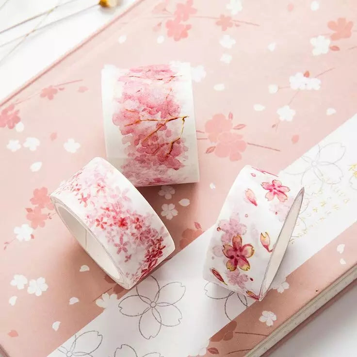 Sakura Washi Tape Series: 1 pc