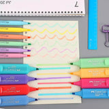 Faber-Castell Pastel Textliner: Set of 6 or 8
