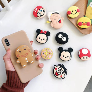 Cute Phone Grip / Pop Socket: 18 characters