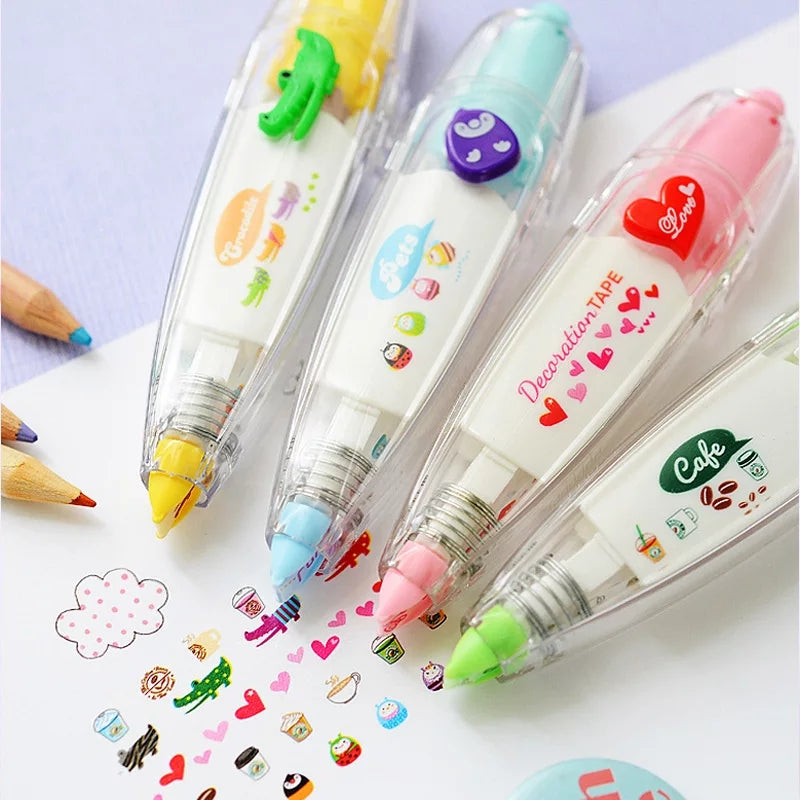 Cute Correction Tape: 20 designs!