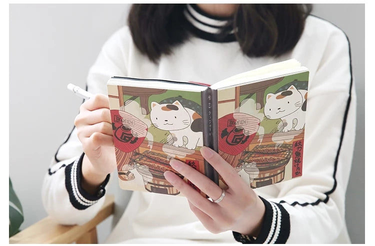 Cute Japanese Cat Planner and Bullet Journal