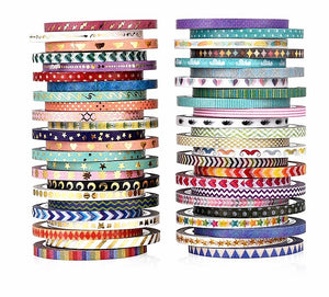 Slim Border Washi Tapes: Set of 48!