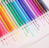 Monami Felt Tip Pen Set: 12, 24, 36 colors