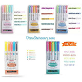 Zebra Mildliner Double-Headed Highlighters