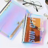 Holographic 6-Ring Binder Cover