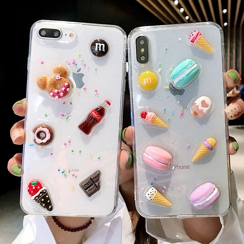 3D Snacks iPhone Case