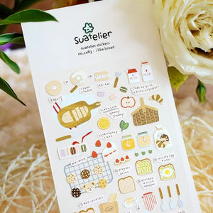 Suatelier Stickers: 4 themes