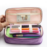 Expandable Korean Style Pencil Case: 13 colors
