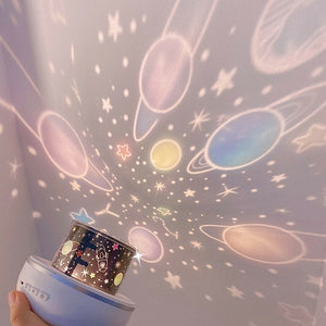 Starry Skies Night Light Projector: 8 models