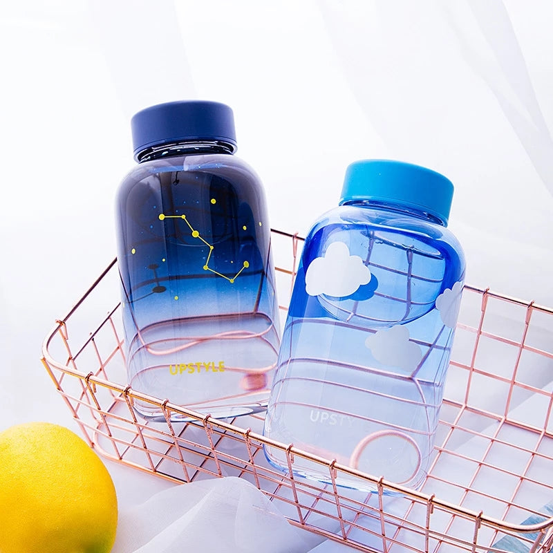 Clear Galaxy Bottles: 8 designs