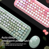 Wireless Keyboard and Mouse: 6 colors