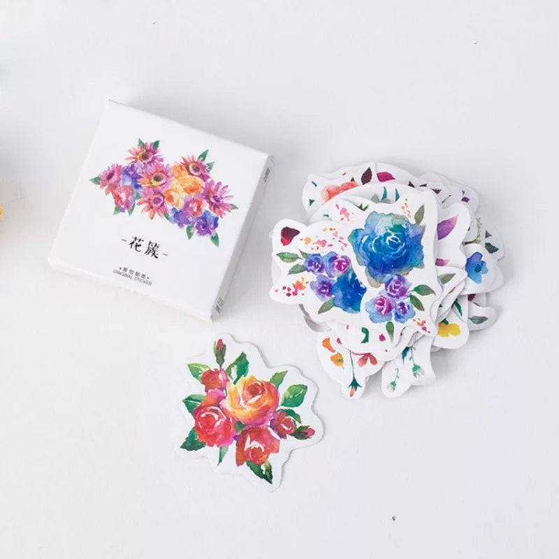 Spring Flowers Sticker Set