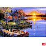 Diamond Painting Kit: 19 scenery!