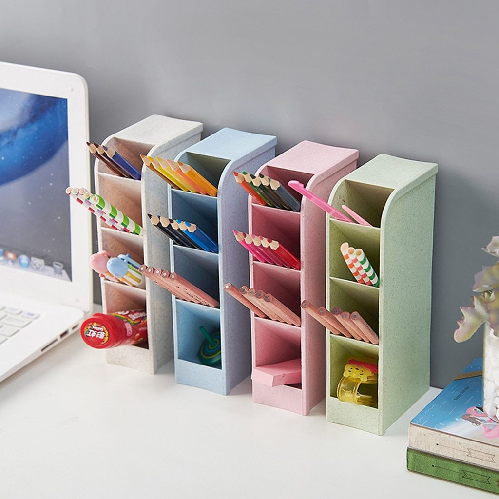 Gifts For Organizers >> Pastel Grid Pen Organizers Otrio Stationery Gifts