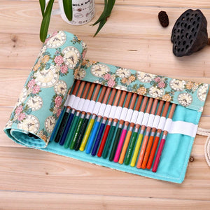 Stylish Pen Pouch Roll: 9 designs to choose from!