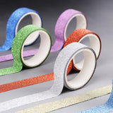 Set of 10 Glitter Washi Tapes