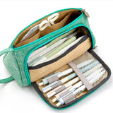 Multiple Pouched Pencil Case: 12 designs