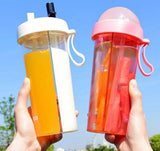 Double Straw Bottle: 6 colors