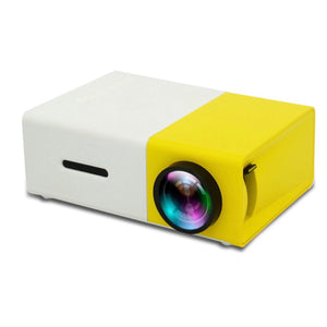 Mini Portable Projector: 3 colors