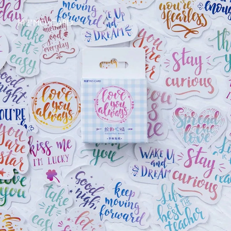 Scrapbooking Stickers: 12 styles to choose from!