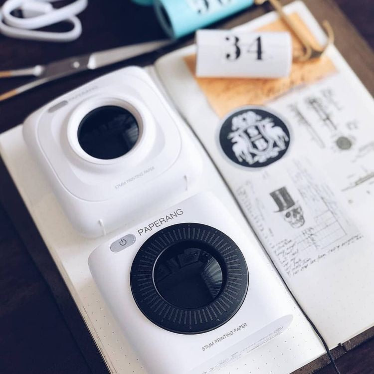 Paperang Mini Inkless Printer: 4 models (black and white photos)