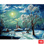 Paint by Number Kit: 23 landscapes!