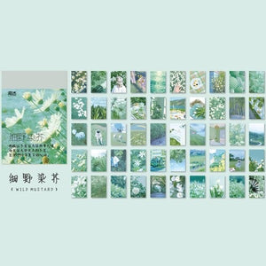 Aesthetic Scenery Stickers: 6 color themes