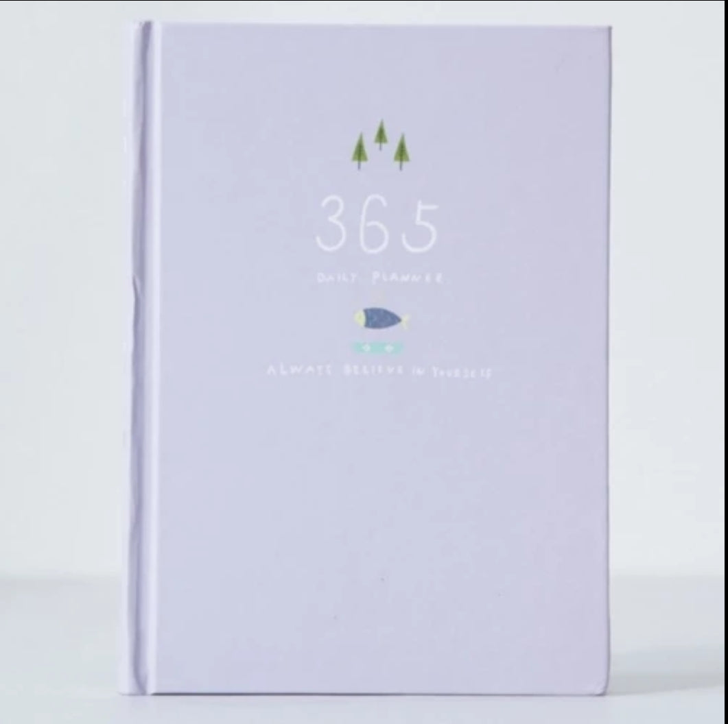 365 Days Kawaii Planner: Pastel & Neutral Colors
