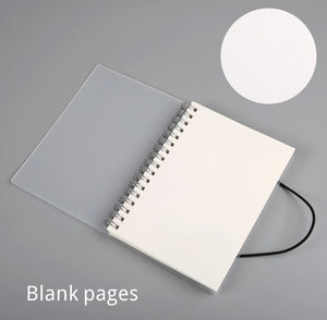 Simple Spiral Bound Notebook: Lined, Dotted, Blank, Grid, Diary, To-Do's