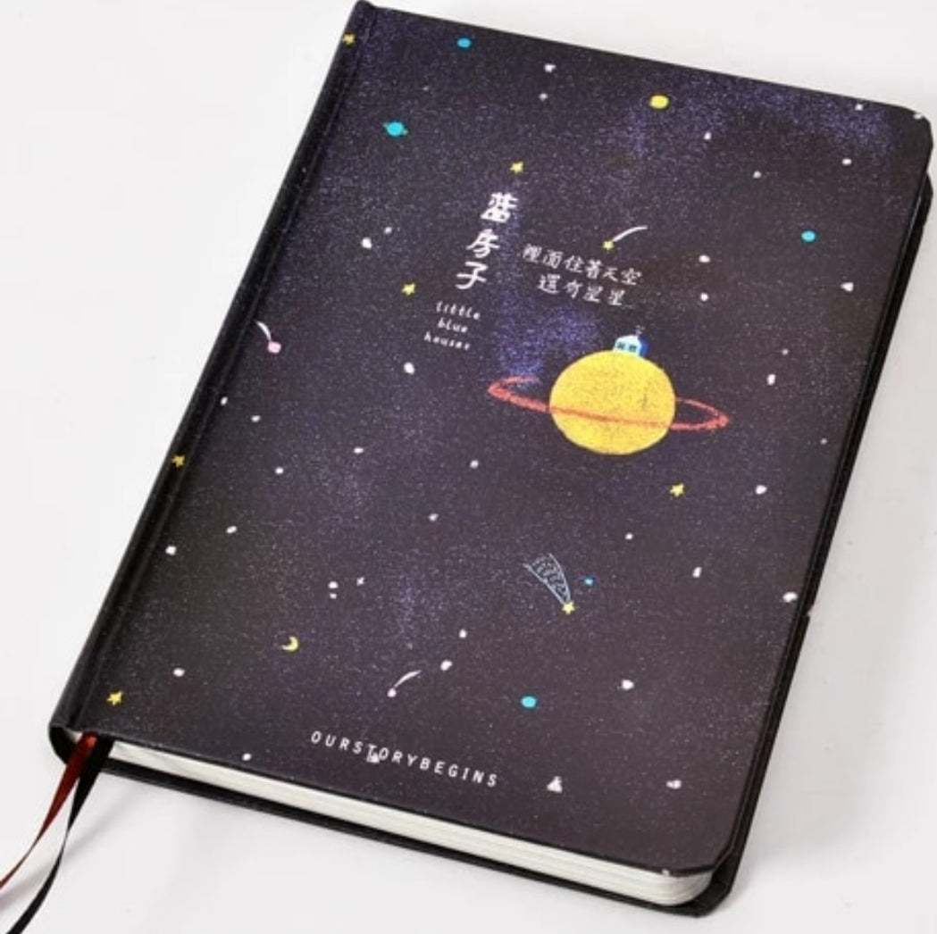 'Our Story Begins' Galaxy Notebook Series