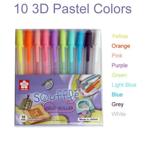 Sakura Gelly Roll Pens: Set of 10 and 20 colors