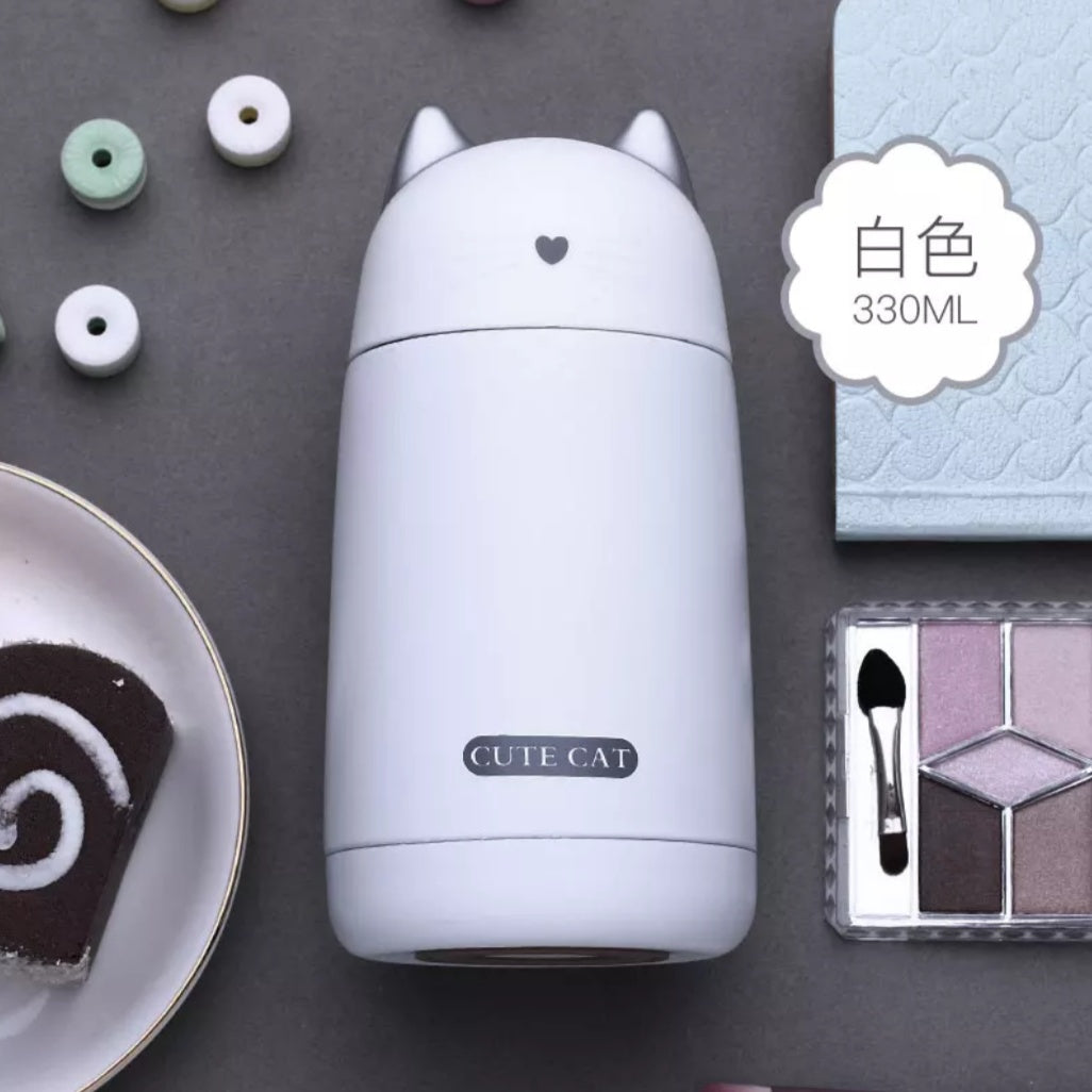 Cute Cat Thermos: 4 colors