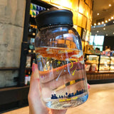 Clear Galaxy Bottles: 7 designs