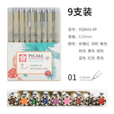 Sakura Pigma Micron Pen Set: Assorted colors