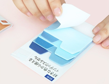 Soft Gradient Sticky Notes