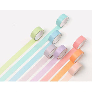 Macaron Washi Tapes: Set of 12