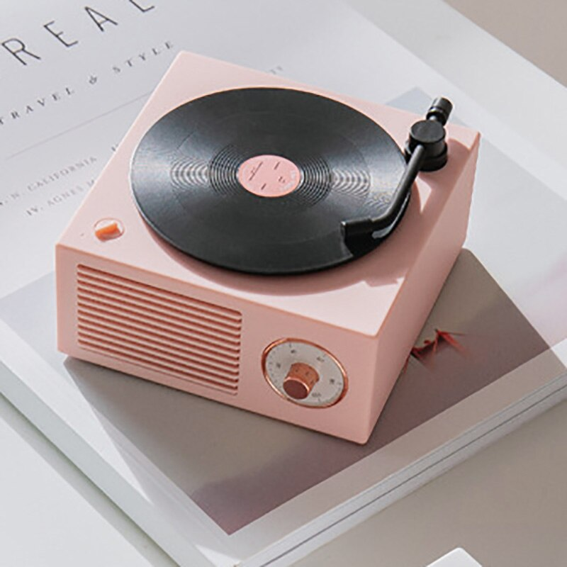 Vinyl Style Bluetooth Speaker: 3 colors