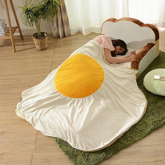 Cute Egg Blanket