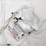 Transparent Concert Bag: Crossbody Style
