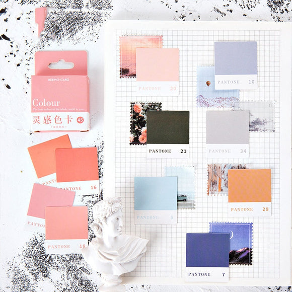 Pantone Sticker Set